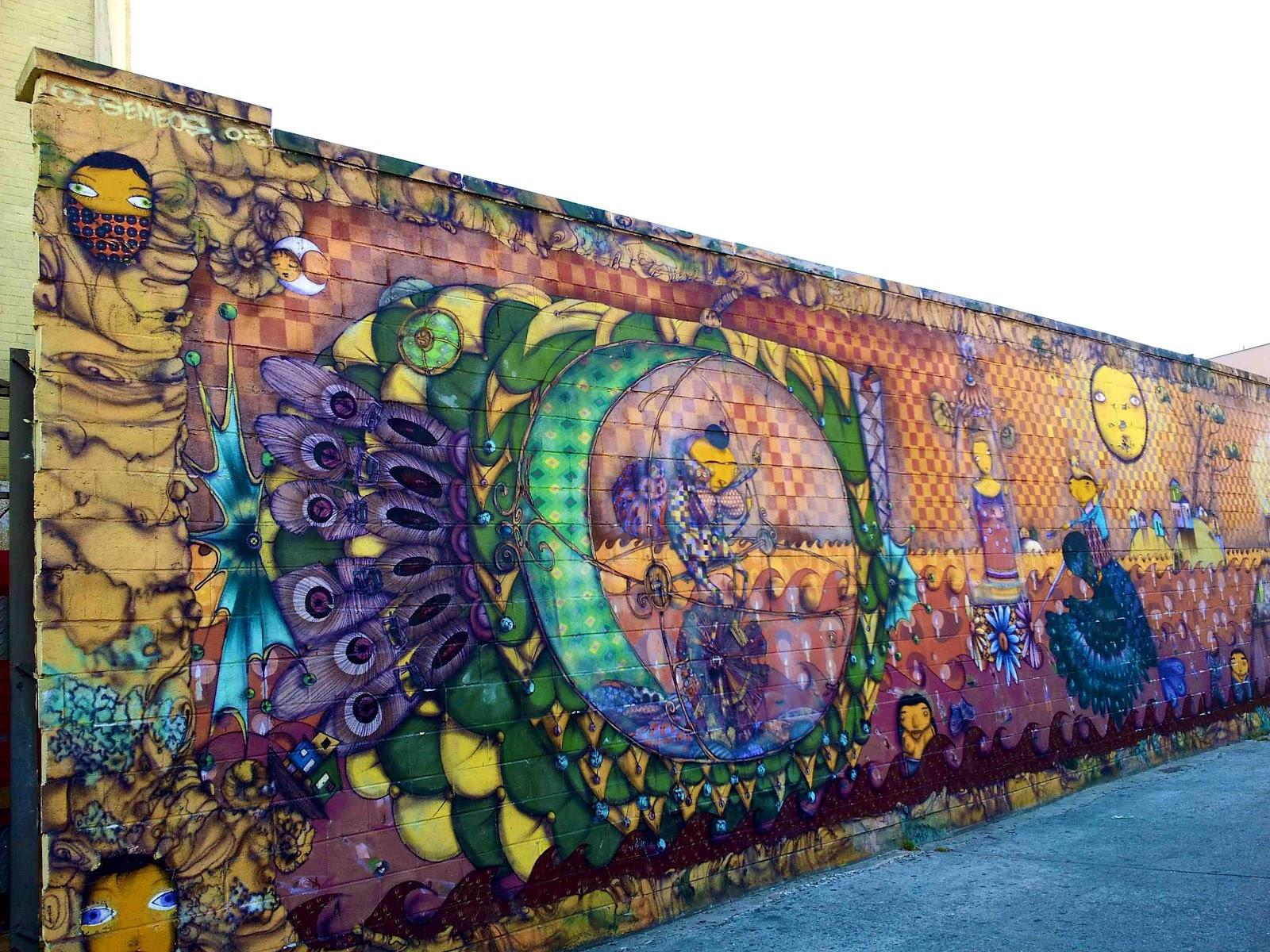 Brazilian murals on the spotlight in new york brazilian for Coney island mural