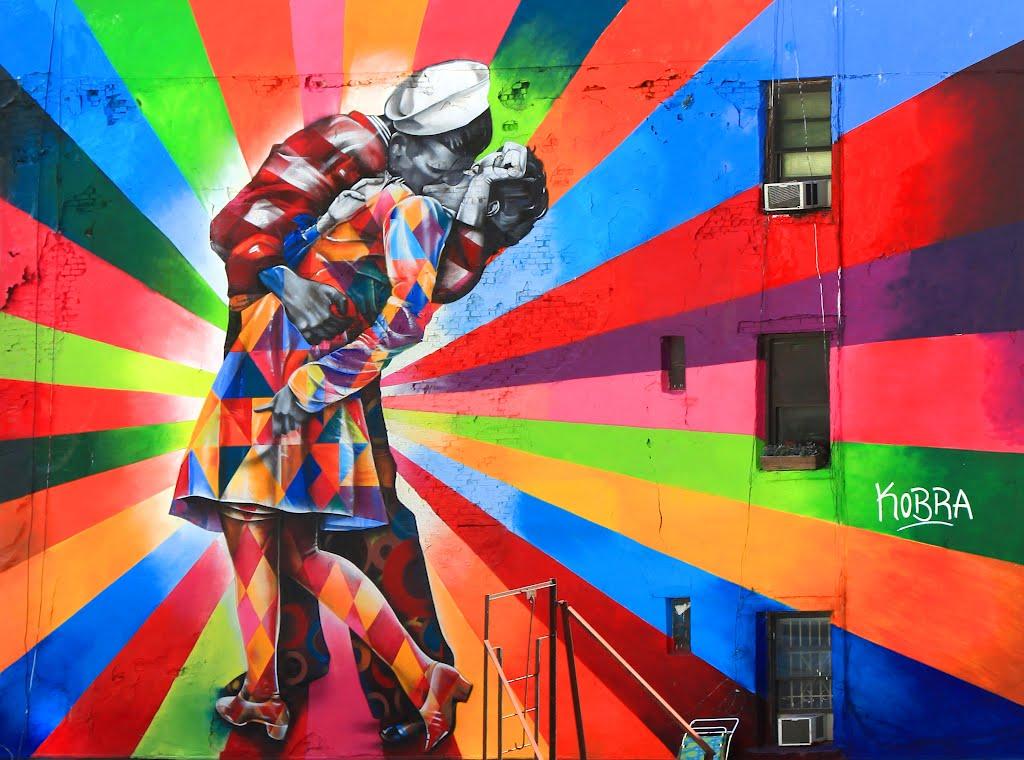 Brazilian murals on the spotlight in new york brazilian for Best mural paint