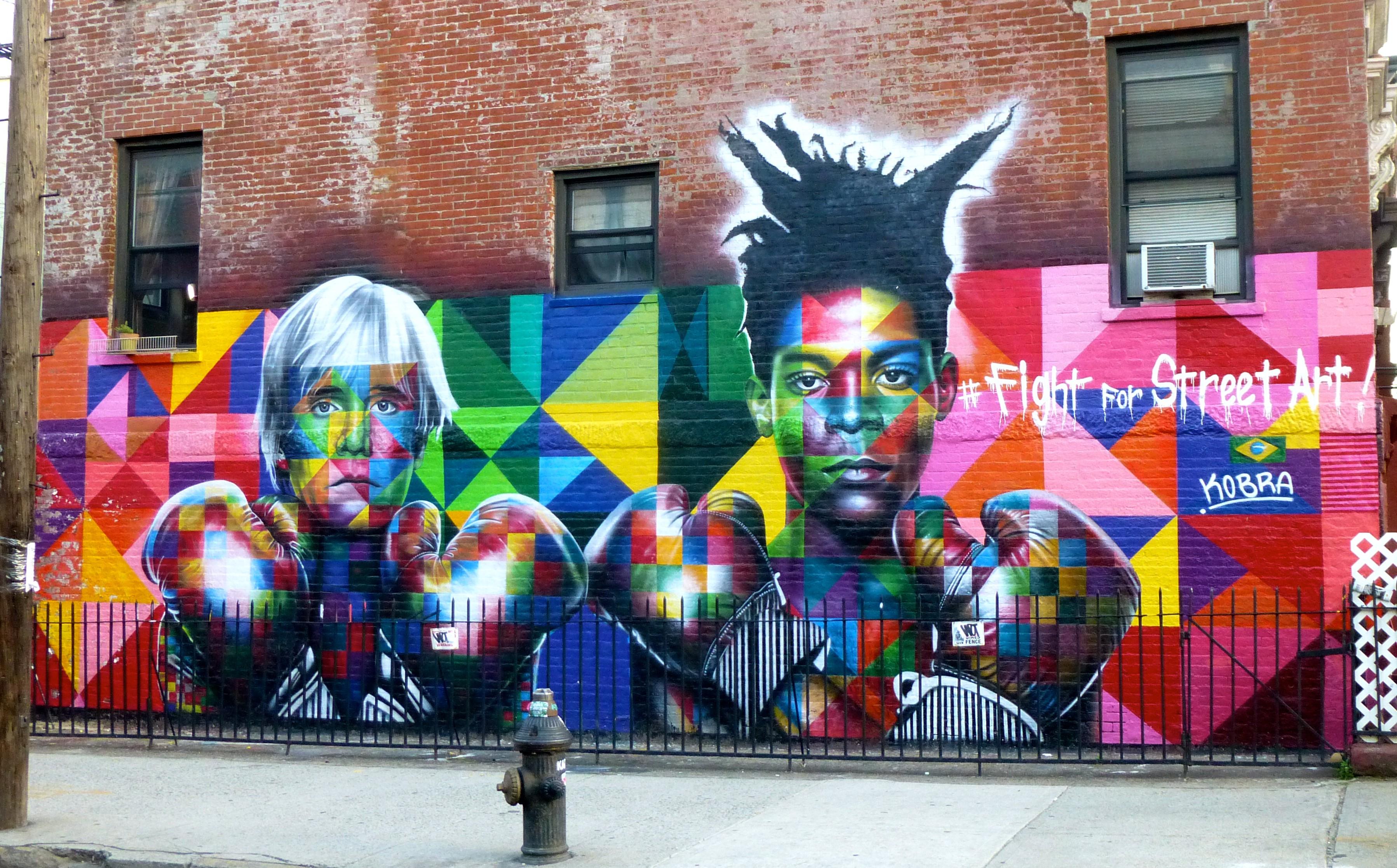 Brazilian murals on the spotlight in new york brazilian for Best mural artists