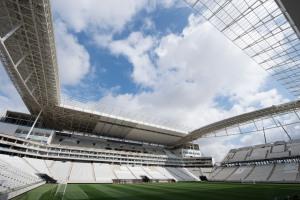 Assunto:Arena Corinthians Local:São Paulo-SP Data:26/04/2014 Autor:DELFIM MARTINS